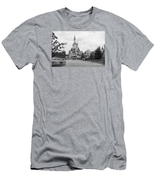 Sleeping Beauty Castle Men's T-Shirt (Athletic Fit)