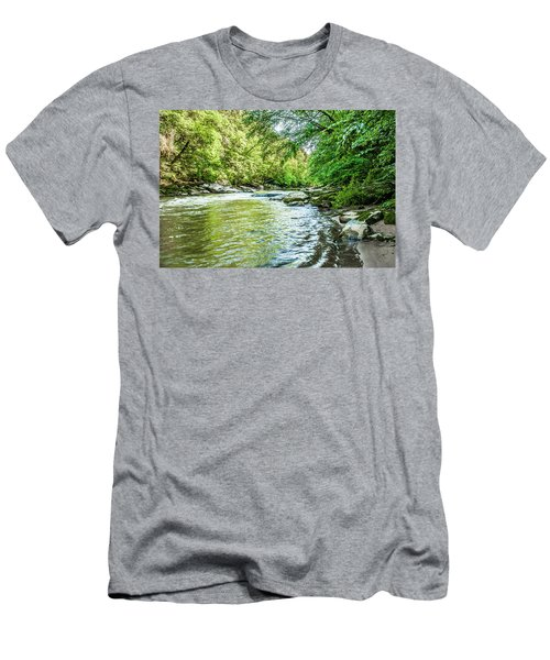 Slippery Rock Gorge - 1920 Men's T-Shirt (Athletic Fit)