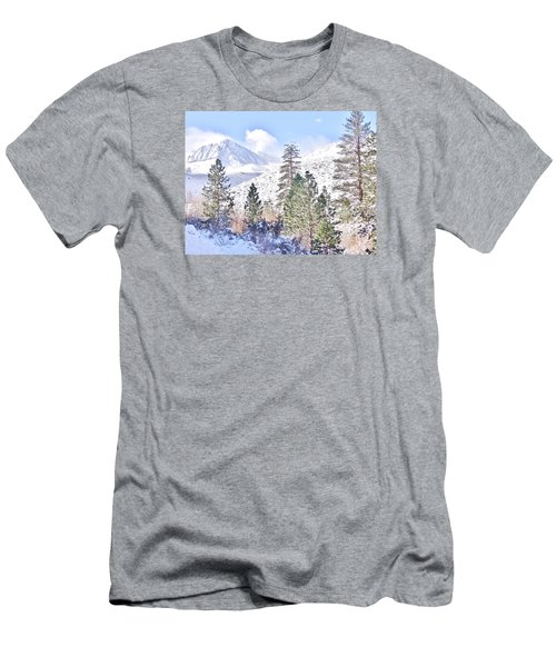 Canyon Snow Men's T-Shirt (Athletic Fit)
