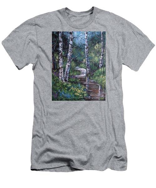 Solitude Men's T-Shirt (Slim Fit) by Megan Walsh