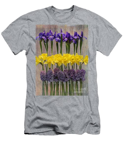 Spring Delights Men's T-Shirt (Slim Fit) by Nina Silver