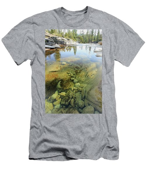 Men's T-Shirt (Athletic Fit) featuring the photograph Stream Dreams by Sean Sarsfield