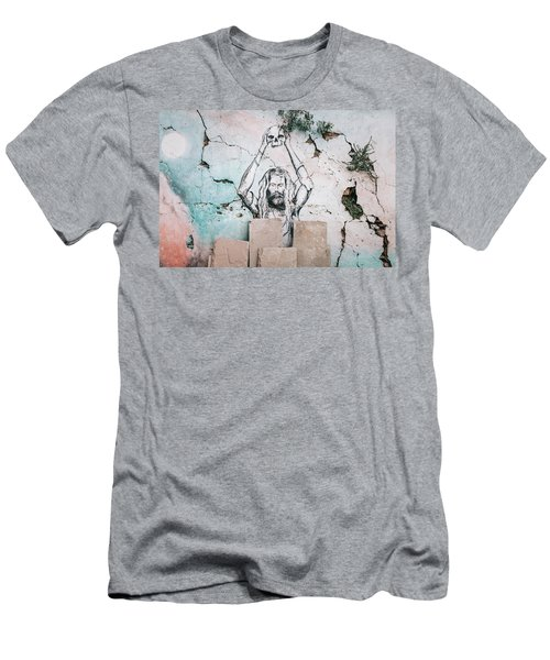 Street Art Men's T-Shirt (Athletic Fit)