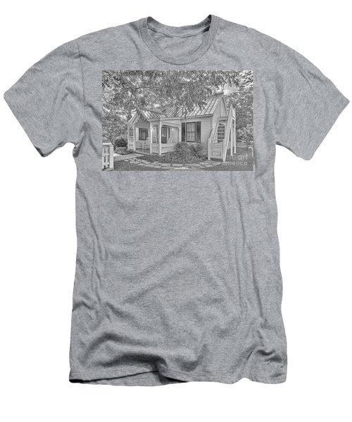 Sunday House Cottage Men's T-Shirt (Athletic Fit)
