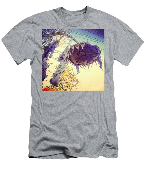Sunflower Men's T-Shirt (Slim Fit) by A K Dayton