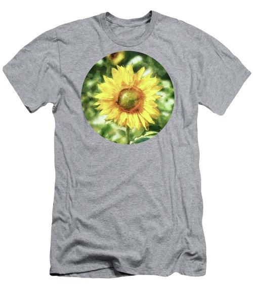 Sunflower Men's T-Shirt (Slim Fit) by Phil Perkins