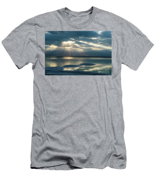 Sunrise At The Dead Sea Men's T-Shirt (Athletic Fit)