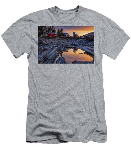 Sunrise At Pemaquid Point II Men's T-Shirt (Athletic Fit)
