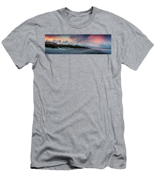 Sunset Emerald Isle Crystal Coast Men's T-Shirt (Athletic Fit)