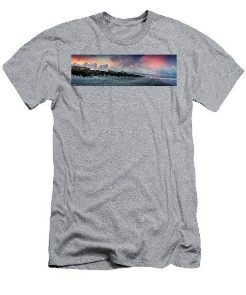 Sunset Emerald Isle Crystal Coast Men's T-Shirt (Athletic Fit)
