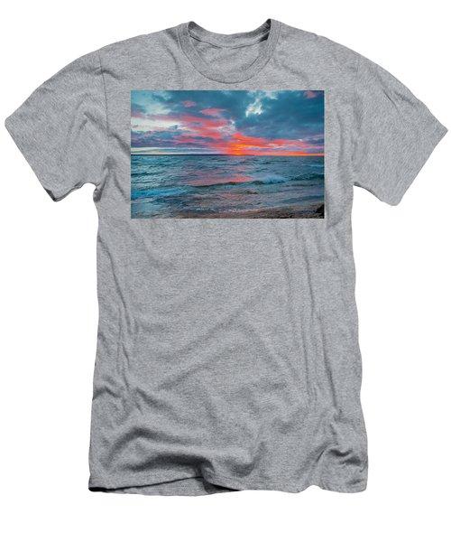 Superior Sunset Men's T-Shirt (Athletic Fit)
