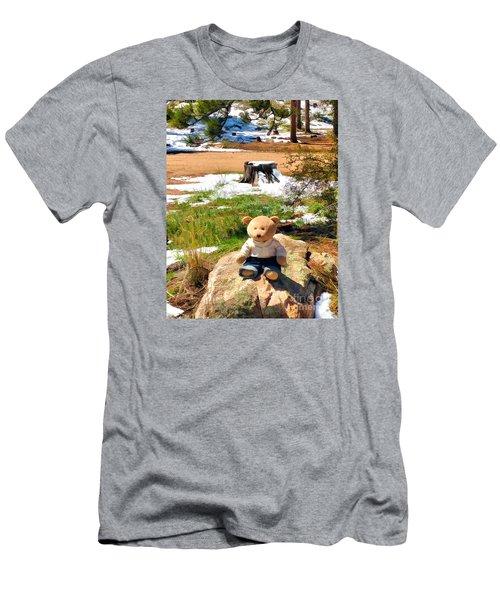 Takin' A Break Men's T-Shirt (Athletic Fit)