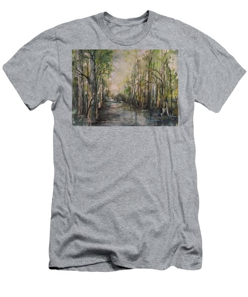Bayou Liberty Men's T-Shirt (Slim Fit) by Robin Miller-Bookhout