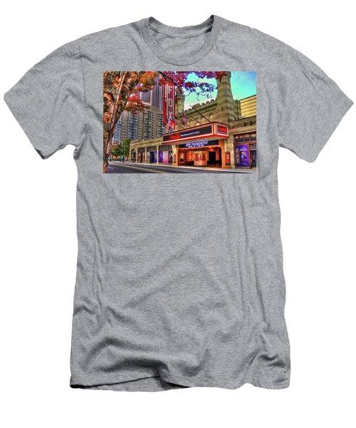 The Fabulous Fox Theatre Atlanta Georgia Art Men's T-Shirt (Slim Fit) by Reid Callaway