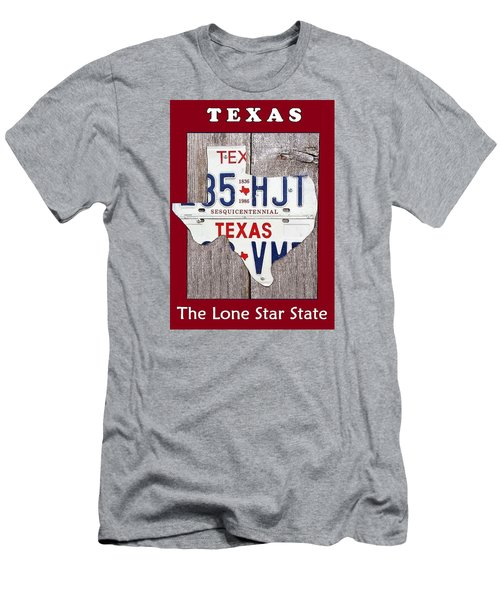 The Lone Star State Men's T-Shirt (Slim Fit) by Suzanne Theis