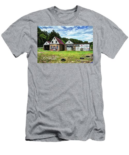 The Old Gas Station Men's T-Shirt (Athletic Fit)
