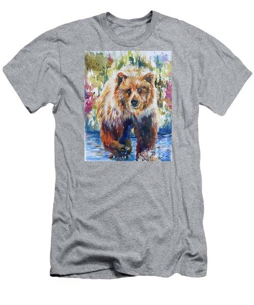 The Summer Bear Men's T-Shirt (Slim Fit) by P Maure Bausch