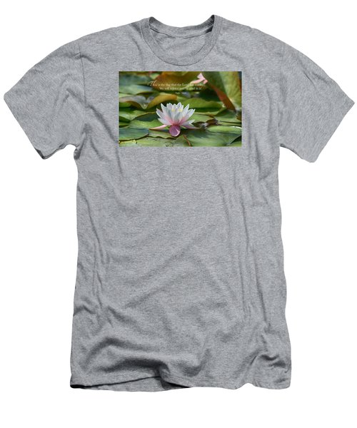 This Is The Day Men's T-Shirt (Slim Fit) by Lynn Hopwood