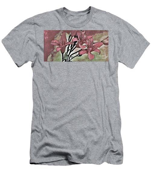 Tigerlily Cutie Men's T-Shirt (Athletic Fit)