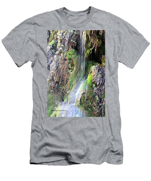 Tonto Waterfall Cave Men's T-Shirt (Athletic Fit)