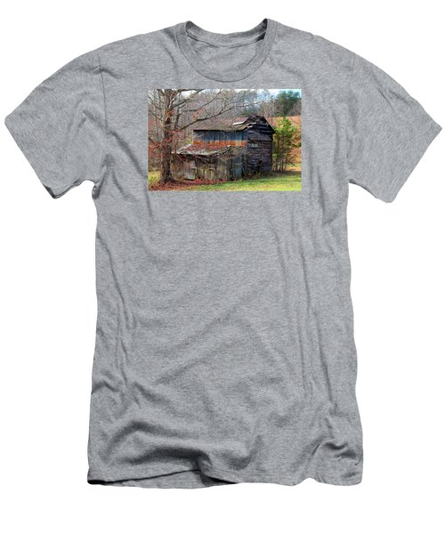 Tumbledown Barn Men's T-Shirt (Slim Fit) by Kathryn Meyer