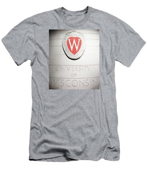 Uw Crest Men's T-Shirt (Athletic Fit)