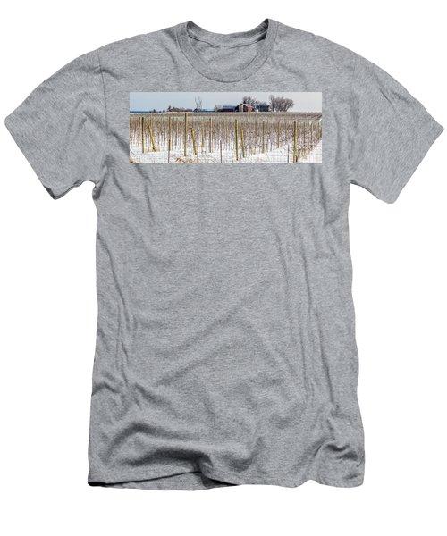 Vinyard On Down Road  Men's T-Shirt (Athletic Fit)