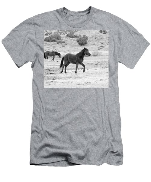 Virginia Range Mustangs Men's T-Shirt (Athletic Fit)