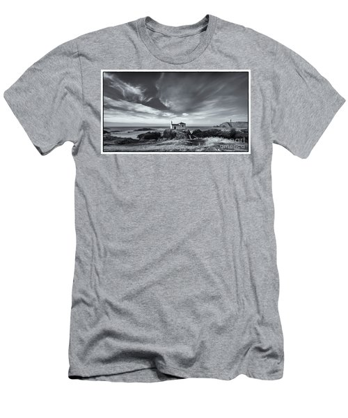 Men's T-Shirt (Athletic Fit) featuring the photograph Virxe Do Porto Meiras Galicia Spain by Pablo Avanzini