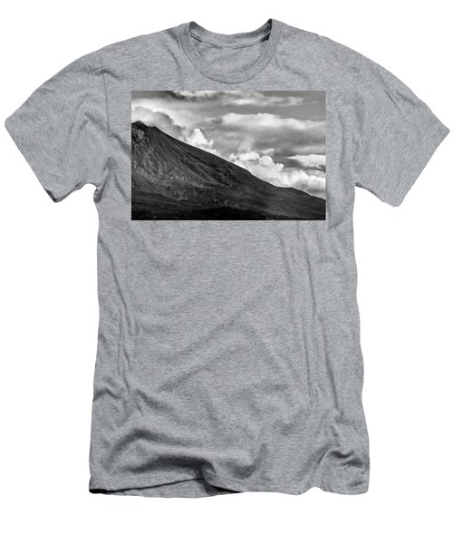 Volcano Men's T-Shirt (Slim Fit) by Hayato Matsumoto