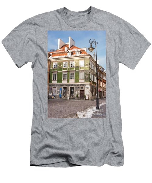 Men's T-Shirt (Slim Fit) featuring the photograph Warsaw, Poland by Juli Scalzi