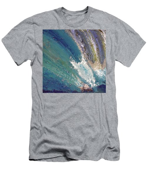 Waterfalls 2 Men's T-Shirt (Athletic Fit)