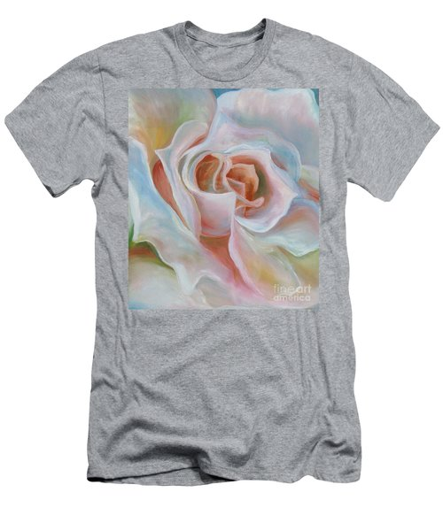 White Rose Men's T-Shirt (Athletic Fit)