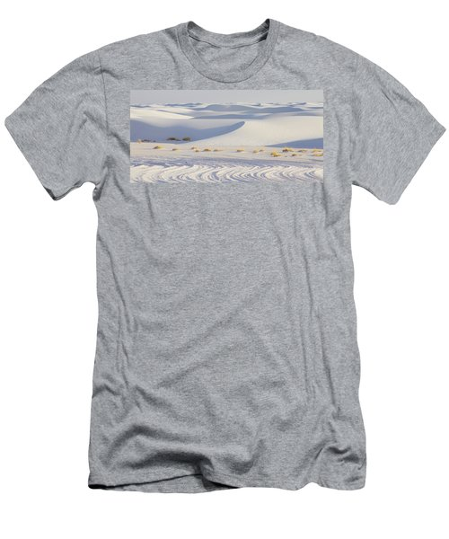 White Sands New Mexico Men's T-Shirt (Slim Fit) by Elvira Butler