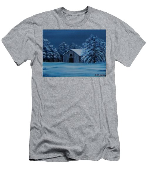 Windburg Barn 2 Men's T-Shirt (Athletic Fit)