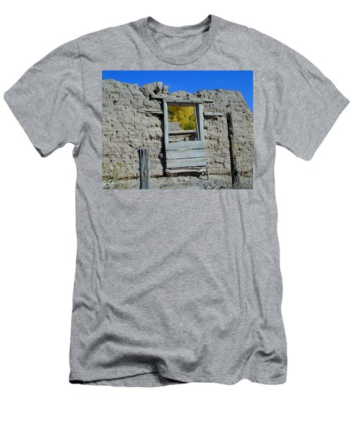 Men's T-Shirt (Athletic Fit) featuring the photograph Window In Autumn by Joseph R Luciano