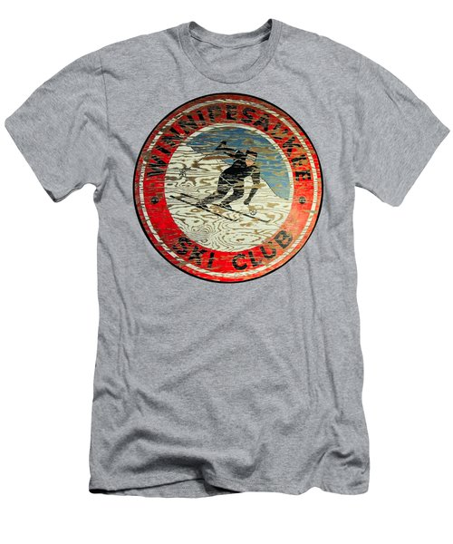Winnipesaukee Ski Club Men's T-Shirt (Athletic Fit)