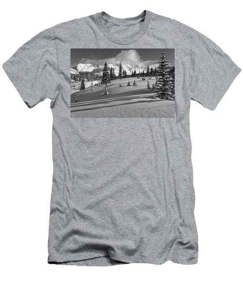 Winter In Banff Men's T-Shirt (Athletic Fit)