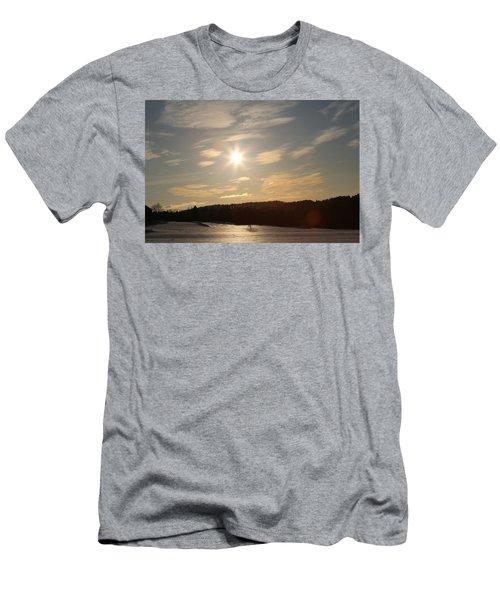 Winter Landscape  Men's T-Shirt (Athletic Fit)