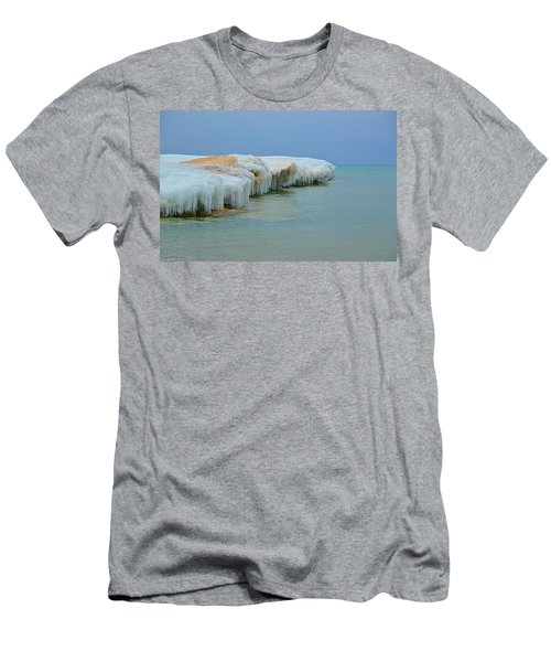 Winter Sculpting Men's T-Shirt (Athletic Fit)