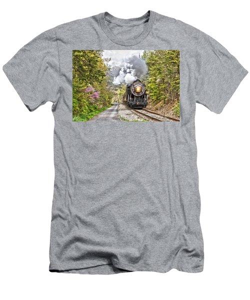 Wmsr Steam Engine 734  Men's T-Shirt (Athletic Fit)