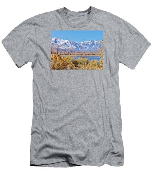 Wonderland Men's T-Shirt (Slim Fit) by Marilyn Diaz