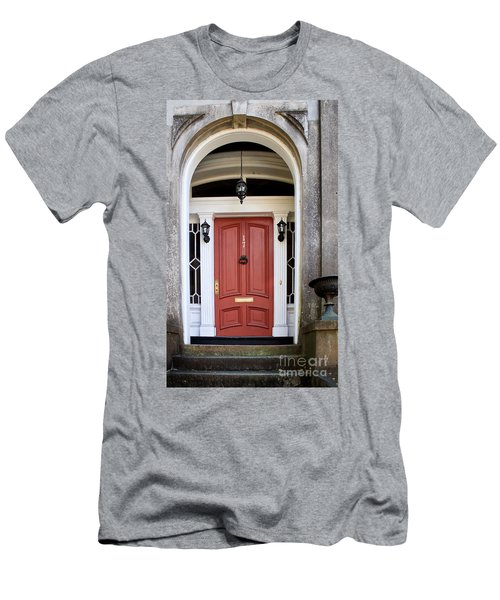 Wooden Door Savannah Men's T-Shirt (Athletic Fit)