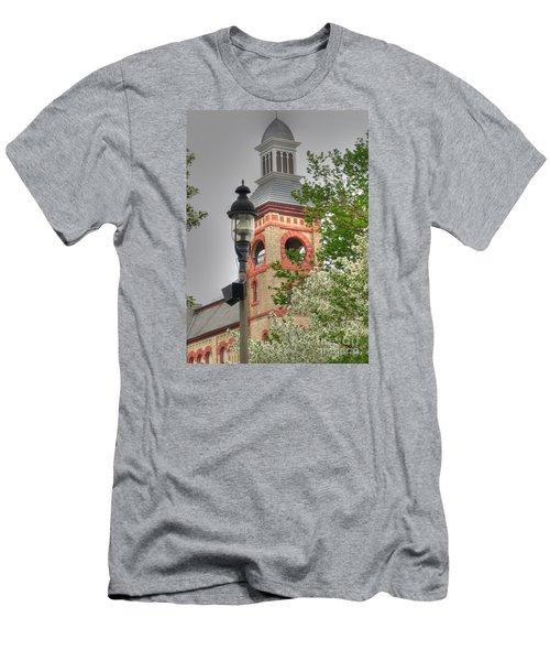 Woodstock Opera House Men's T-Shirt (Slim Fit) by David Bearden