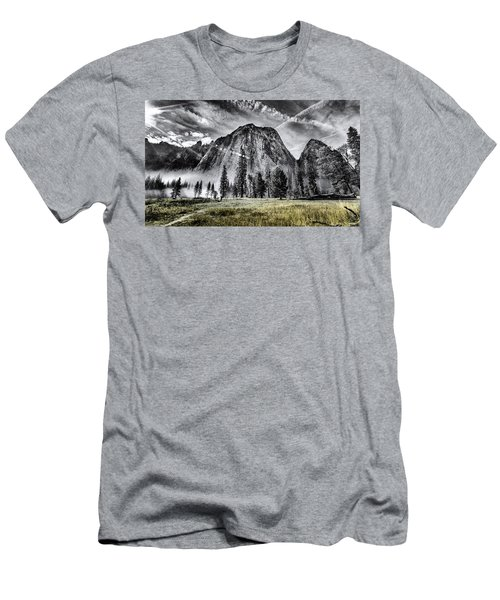 Men's T-Shirt (Athletic Fit) featuring the photograph Yosemite Dawn by Chris Cousins