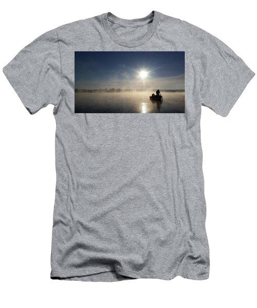 10 Below Zero Fishing Men's T-Shirt (Slim Fit) by Brook Burling