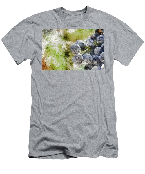 Red Grapes On The Vine Men's T-Shirt (Athletic Fit)