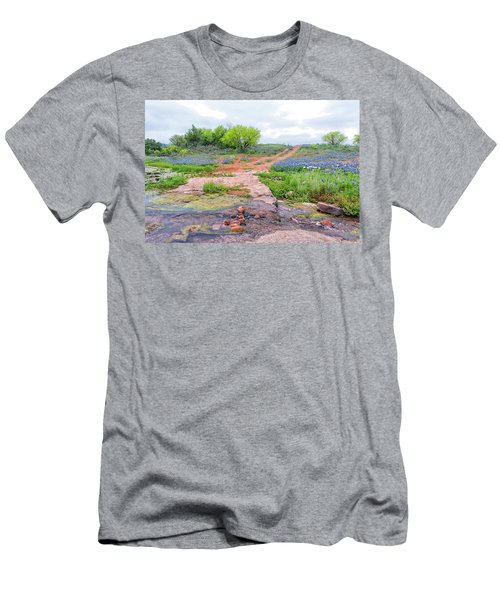 Texas Bluebonnets 9 Men's T-Shirt (Athletic Fit)