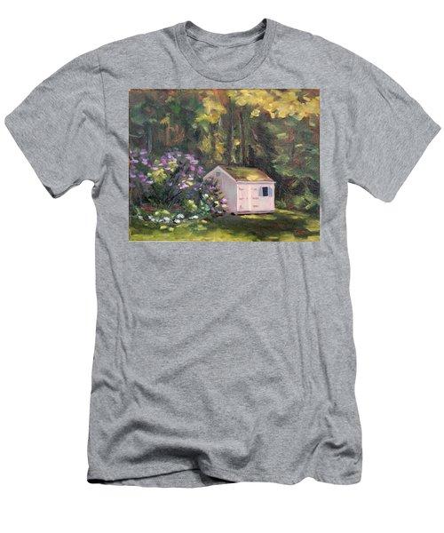 101 Blooms Men's T-Shirt (Slim Fit) by Trina Teele