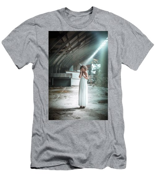 Men's T-Shirt (Athletic Fit) featuring the photograph Giulia by Traven Milovich